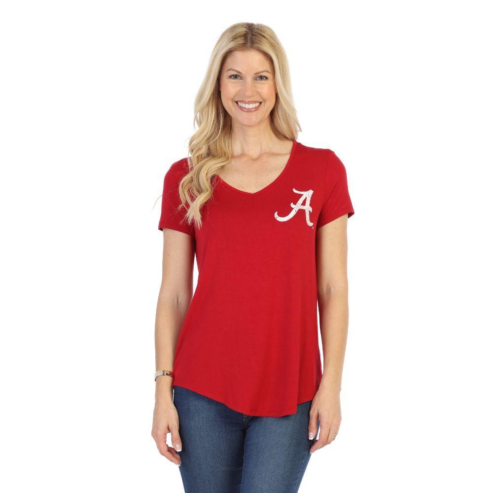 Alabama P.Michael Mascot V- Neck