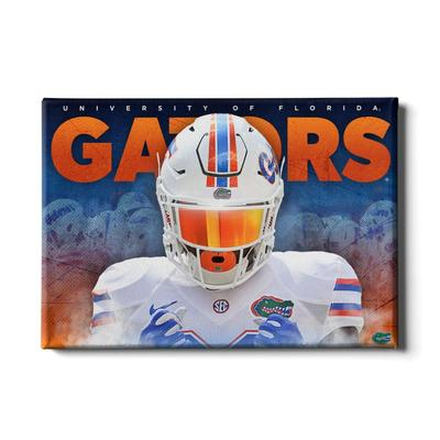 Florida 24x16 Gators Fight Canvas