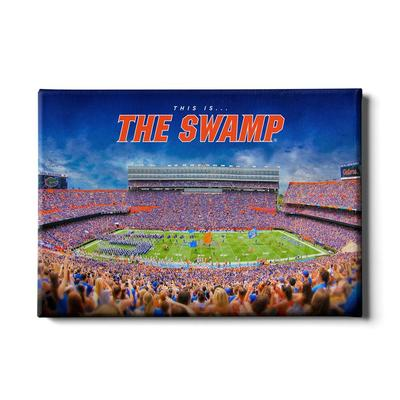 Florida 24x16 This is the Swamp Canvas