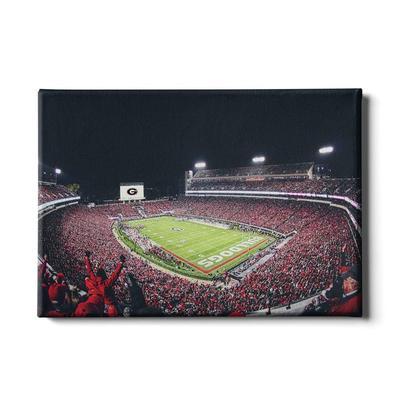 Georgia 24x16 Sanford Stadium II Canvas