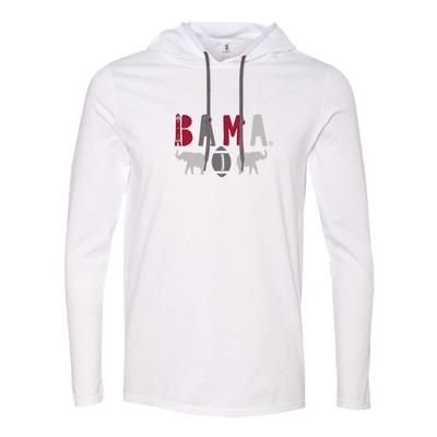 Alabama Ladies BAMA Lightweight Hoodie