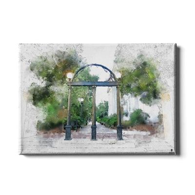 Georgia 24x16 Arch Painting Canvas