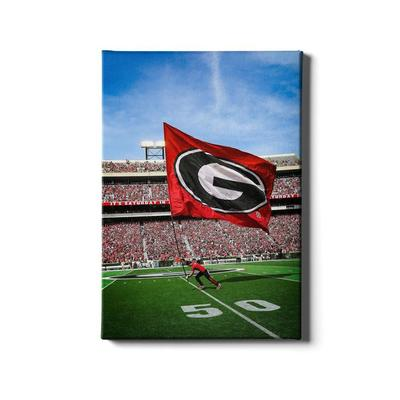 Georgia 16x24 The G Canvas