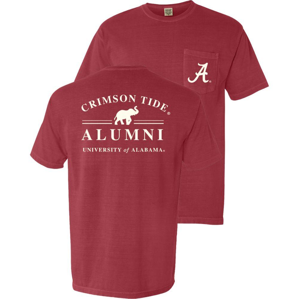 Alabama Alumni Comfort Colors Pocket Tee