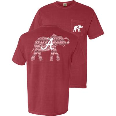 Alabama Fight Song Comfort Colors Shirt