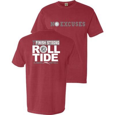 Alabama No Excuses Comfort Colors Shirt