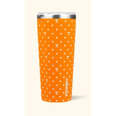 Tennessee Corkcicle 24oz Polka Dot Tumbler