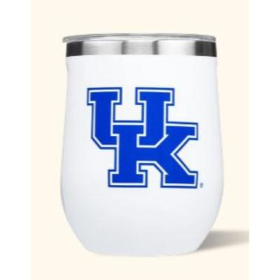 Kentucky Corkcicle 12oz Stemless Wineglass