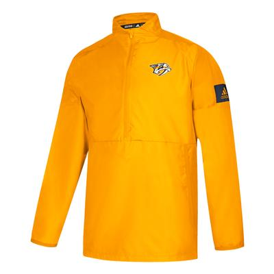 Nashville Predators Adidas Game Mode 1/4 Zip