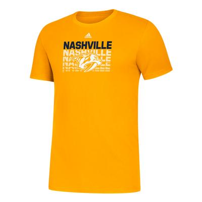 Nashville Predators Adidas Amplifier Tee