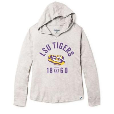 LSU League Women's Slub Hoodie