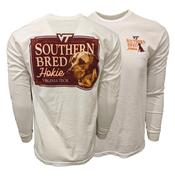 Virginia Tech Comfort Colors Southern Bred Hokie L/S T- Shirt