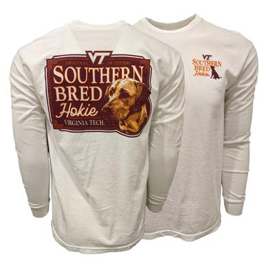 Virginia Tech Comfort Colors Southern Bred Hokie L/S T-Shirt