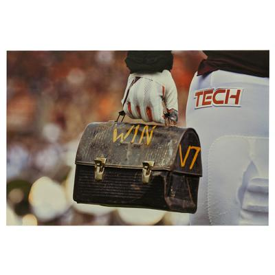 Virginia Tech Lunch Pail Win Tech Canvas