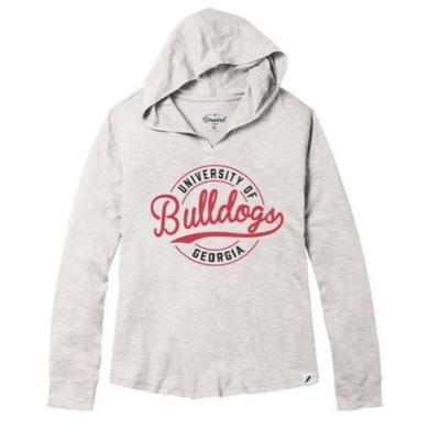 Georgia League Women's Slub Hoodie