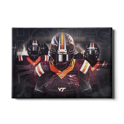 Virginia Tech Player Entrance Canvas