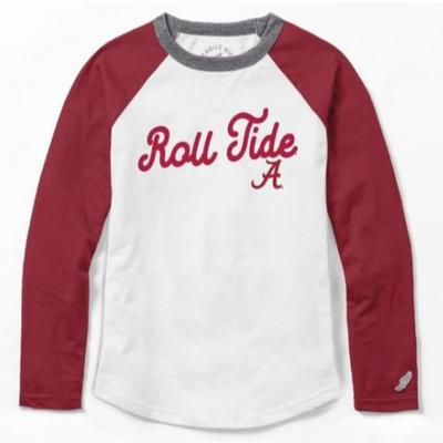 Alabama League Girls' Baseball Tee