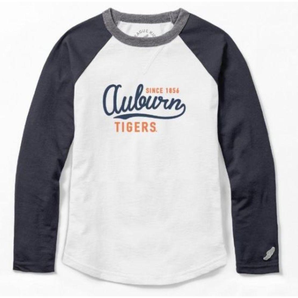 Auburn League Girls ' Baseball Tee