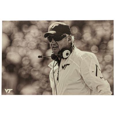Virginia Tech Vintage Coach Beamer Canvas