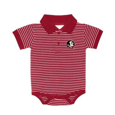 FSU Stripe Polo Creeper