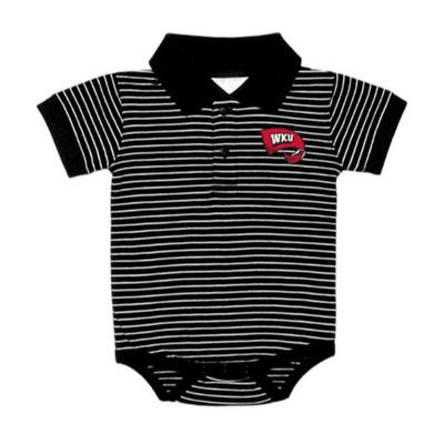 Western Kentucky Stripe Polo Creeper
