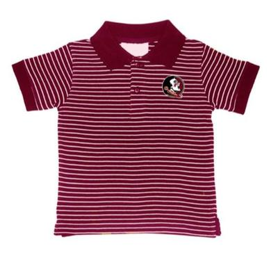 FSU Toddler Stripe Polo