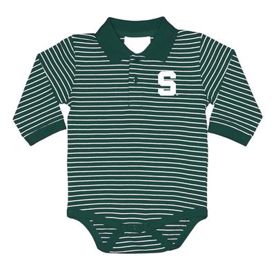 Michigan State Infant L/S Creeper