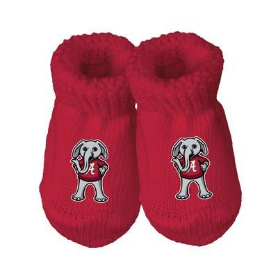 Alabama Infant Gift Box Booties w/Hook