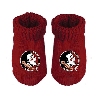 FSU Infant Gift Box Booties w/Hook