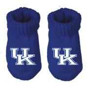 Kentucky Infant Gift Box Booties W/Hook