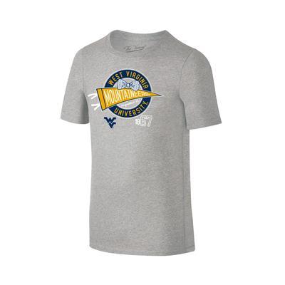 West Virginia Youth Girls Pennant Tee Shirt
