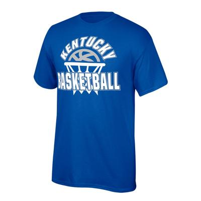Kentucky Youth Arch with Basketball in Net Tee Shirt