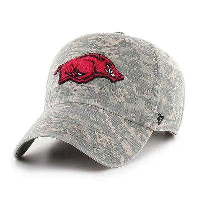 Arkansas Digi Camo Clean Up Cap