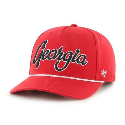 Georgia MVP Script Rope Trim Hat