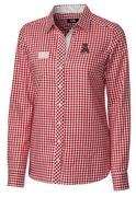Alabama Cutter & Buck Women's Gingham Buttondown Shirt