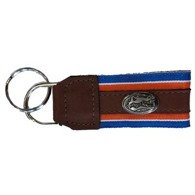 Florida Leather Conco Keychain