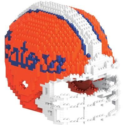 Florida NCAA 3D Brxlz Helmet Puzzle Building Blocks Set