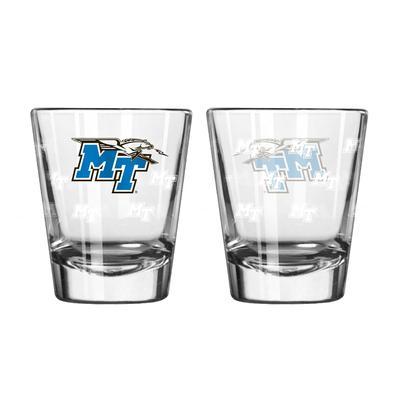 MTSU 2oz Shot Glass