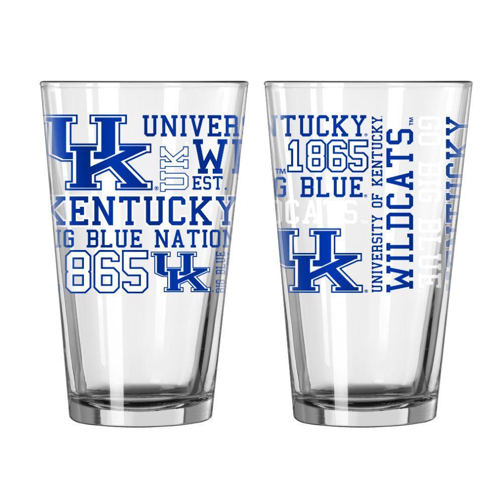 Kentucky 16oz Spirit Pint Glass