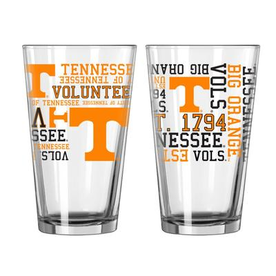 Tennessee 16oz Spirit Pint Glass