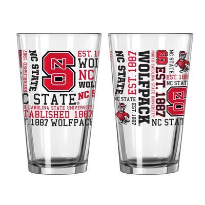 NCST 16oz Spirit Pint Glass