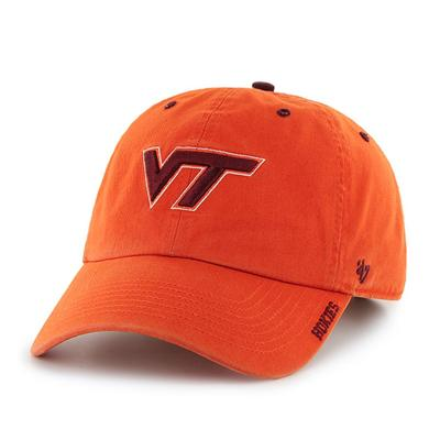 Virginia Tech '47 Brand Clean Up Cap
