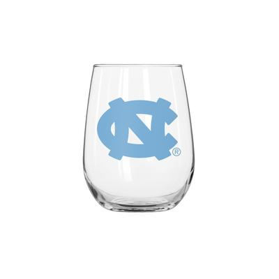 UNC 16oz Curved Beverage Glass