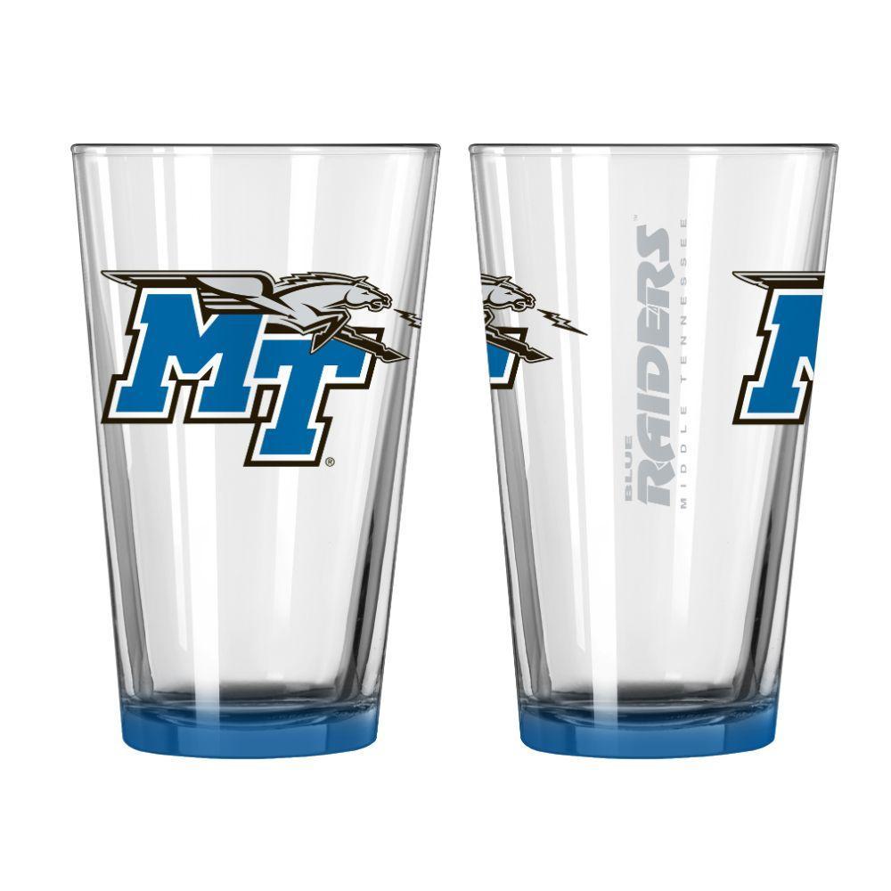 Mtsu 16oz Elite Pint Glass