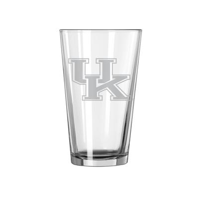Kentucky 16oz Satin Etch Pint Glass