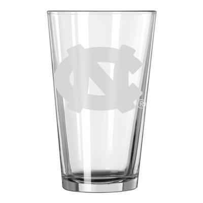 UNC 16oz Satin Etch Pint Glass