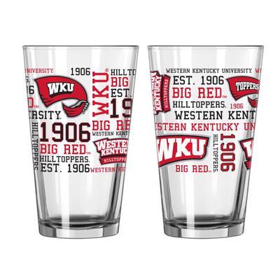Western Kentucky 16oz Spirit Pint Glass