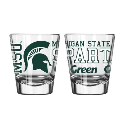 Michigan State 2oz Spirit Shot Glass