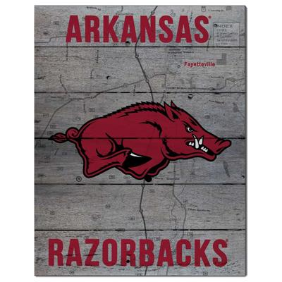 Arkansas Road To Victory Pallet 16