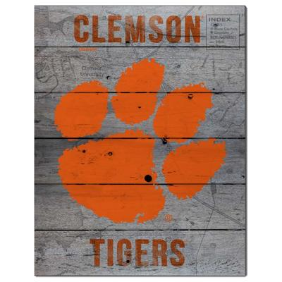 Clemson Road To Victory Pallet 16